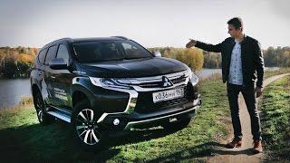 Новый Mitsubishi Pajero Sport 2016 Тест-Драйв Игорь Бурцев / Свежая Кровь Паджеро vs Седина Прадо?