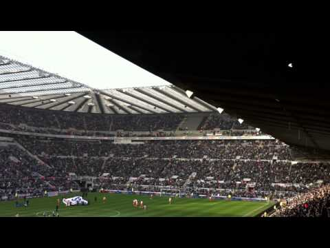 Local Hero Song @ St James Park Pre Kick Off