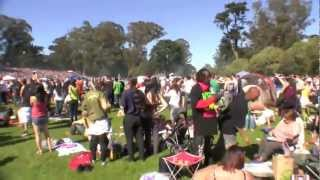 HUGE Stoner Party - 420 San Francisco Hippie Hill