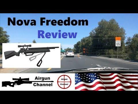 Nova Freedom Review (How Many Pumps?) PCP Air Rifle W/ Hand Pump #2
