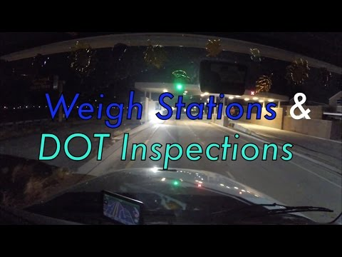 Weigh Stations & DOT Inspections