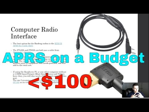 APRS On A Budget - Mobile Station For Emergency Use