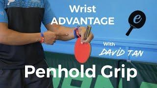 Traditional Penhold Grip Advanced technique with eBaTT guest David Tan