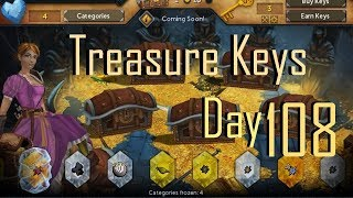 (RS) Runescape Daily Free Treasure Hunter Keys - Tribal Trials - Day 108 & Game Play  (CC)