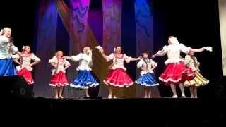 Конкурс народного танца 2014