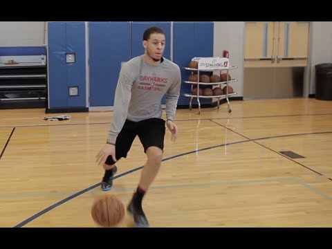 Warm Up Shooting Drills with NBA Shooting Guard Seth Curry