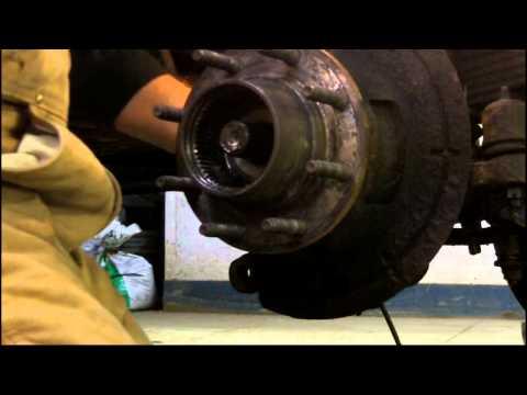 Front hub work - Ford F250 Super Duty 4x4