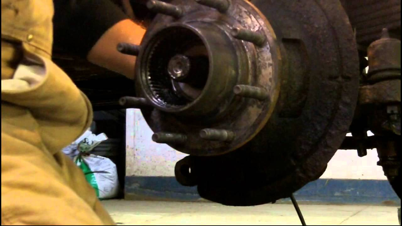 Front Hub Work Ford F250 Super Duty 4x4 Youtube