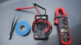 Поиск утечки тока в автомобиле(На примере BMW 535i, для поиска использованы токовые клещи., 2014-07-08T22:44:59.000Z)