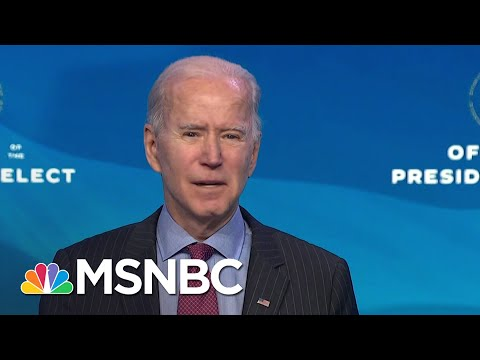 Biden Considered Sanders For Labor Secretary But 'Can't Put Control Of The Senate At Risk'   MSNBC