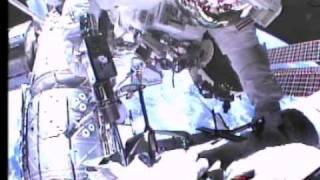 STS-134 Space Shuttle Endeavour Last Shuttle EVA timelapse