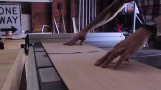 Cajon Drum Project Featuring Rockler Tablesaw Crosscut Sled By Hosey's Workshop