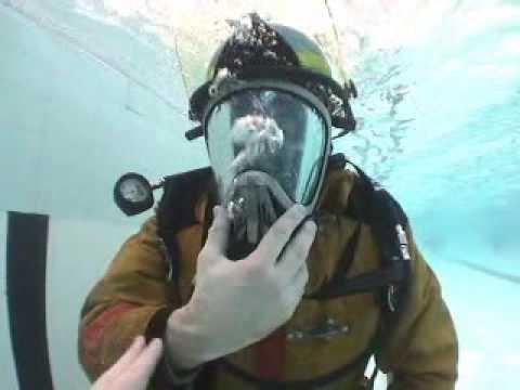 SCBA Underwater