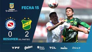 Архентинос Хуниорс  0-2  Дефенса и Хустисия видео