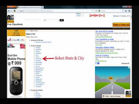 Free Classifieds Ads in India - NetAds.in