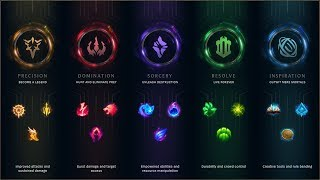 PRESEASON 2018 || ALL RUNES in ALL CHAMPIONS || LEAGUE OF LEGENDS