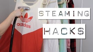 HOW TO STEAM CLOTHES | 5 Steaming Hacks From A Poshmark Seller
