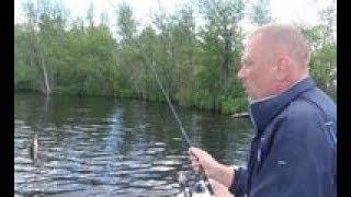 Ловля окуня на природном водоеме