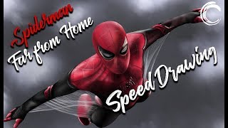 Drawing Spider-Man - Far From Home I Giosuè Russo Art
