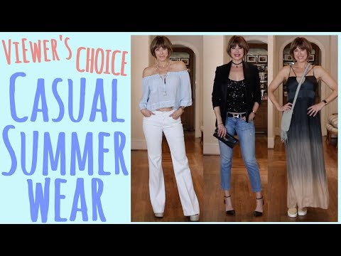 c31ef5e07c1f Viewers' Choice: Casual Summer Wear | Dominique Sachse - YouTube