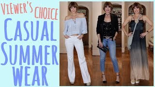 Viewers' Choice: Casual Summer Wear | Dominique Sachse