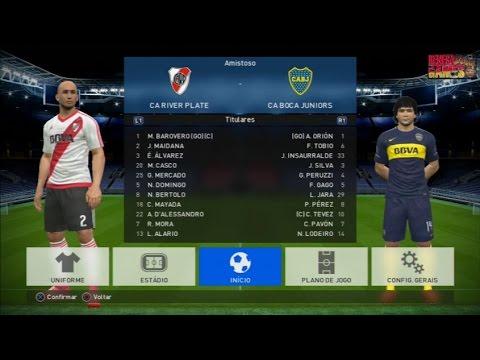 Renega Demo: PES 17 - River Plate x Boca Juniors (PS3)