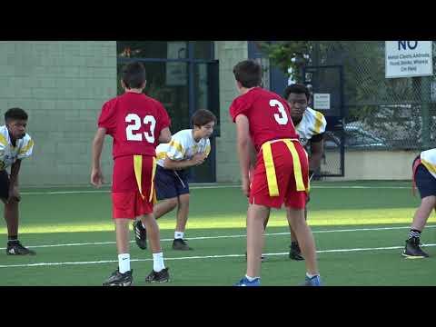 William Flag Football Crossroad School 10-22-19