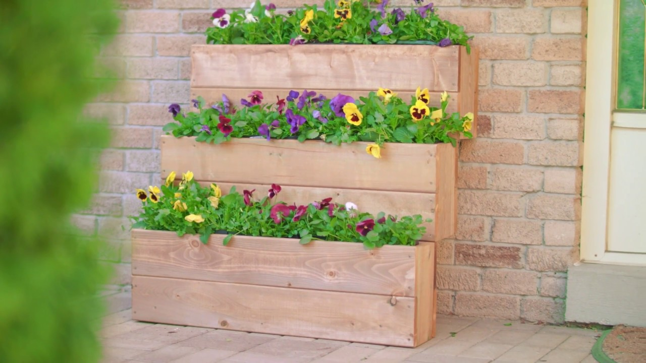 Herb Garden Planter Boxes Diy Projects