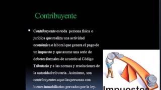 DEBERES Y OBLIGACIONES DEL CONTRIBUYENTE