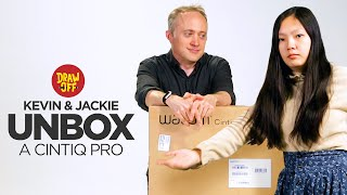 Kevin & Jackie Unbox A Fancy Drawing Monitor