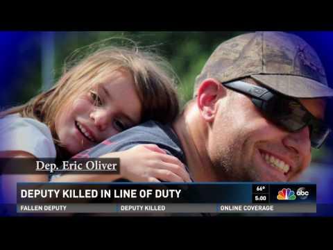 Community Mourns Fallen Deputy Eric Oliver Newscast