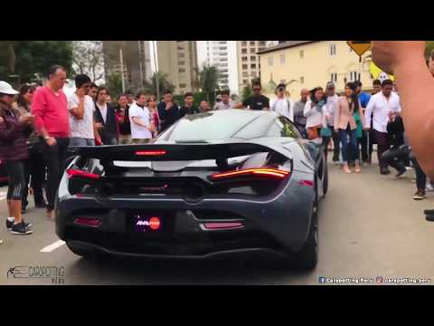 Autos de Lujo en el Perú Pt.2 || Los mejores carros en Lima (Ferrari, McLaren 720s, Aston Martin)