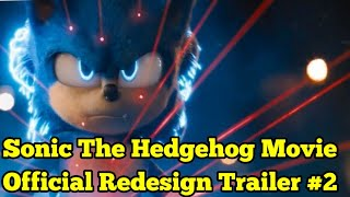 Sonic The Hedgehog Movie Official Redesign Update & New Trailer