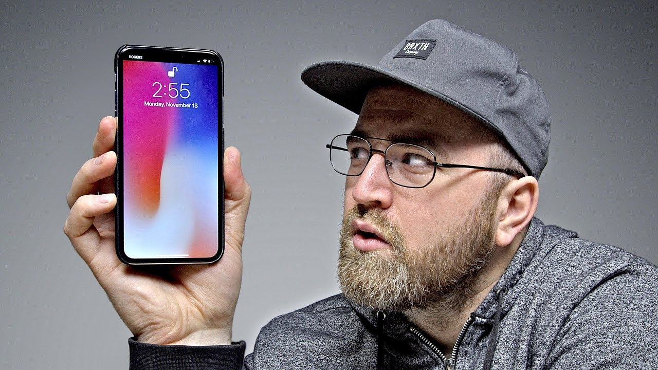 removing the notch from iphone x youtube. Black Bedroom Furniture Sets. Home Design Ideas