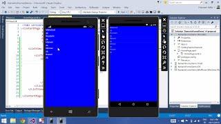 Xamarin Forms & Visual Studio Part 8 [ListView, ItemTemplate]