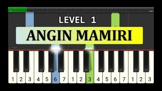 not piano angin mamiri - tutorial level 1 - lagu daerah nusantara tradisional - sulawesi selatan