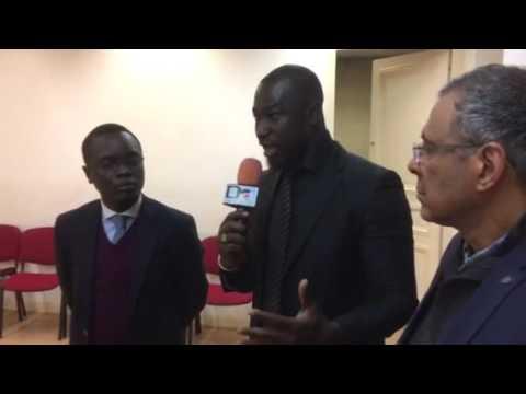 Intervention de la diaspora au pluriel et de l'opposition sénégalaise à paris sur la le fichier ele