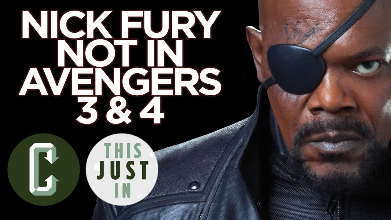 Samuel L. Jackson Isn't in Avengers Infinity War or Avengers 4 – Collider Video