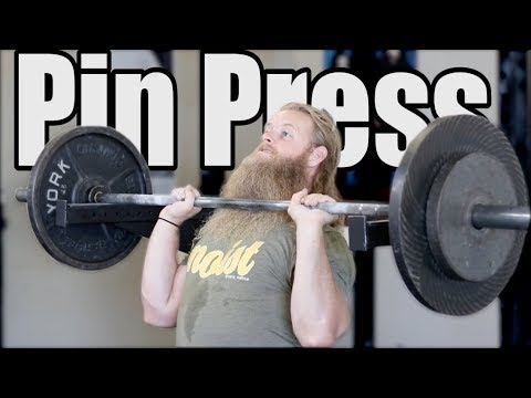 #1 Upper Body Variation: PIN PRESS Untamed Special
