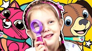 ДОКТОР ПЛЮШЕВА Окулист Проверяет зрение и выписывает очки Doc McStuffins Видео для детей