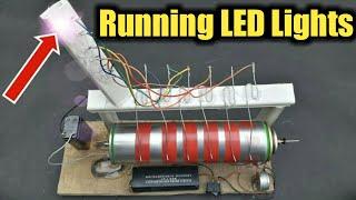 How To Make Running LED Lights