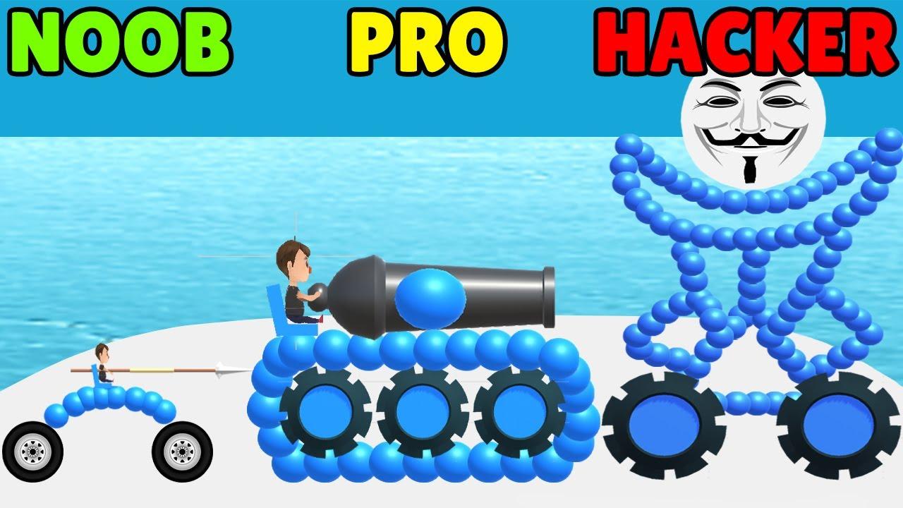 Download NOOB vs PRO vs HACKER in Draw Joust!