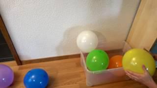 Farben lernen für Kinder in Schweizerdeutsch mit Ballons - Learning Colors in Swiss German