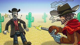 Roblox   WILD WILD WEST SHOOT OUT! (Roblox Cowboys vs Sheriffs)