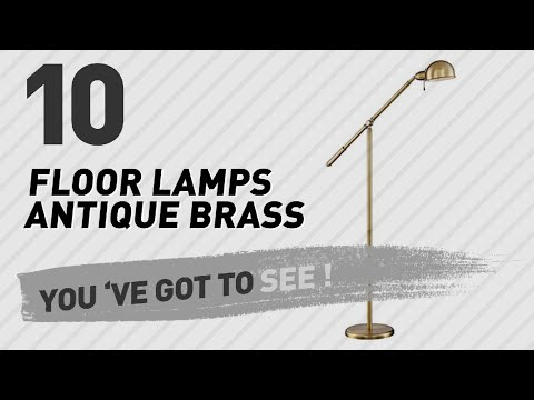 Floor Lamps Antique Brass // New & Popular 2017