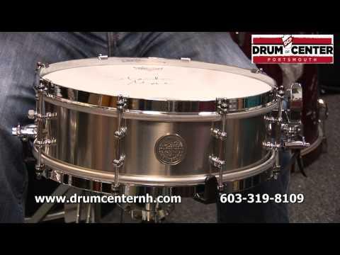 Stanton Moore Spirit of New Orleans Titanium Snare Drum 14x4.5