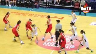 學界精英籃球比賽四強 - 漢華中學 vs 中華基督教青年會中