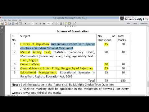 Rpsc 1st Grade(स्कूल व्याख्याता) GK Paper syllabus Analysis and books : 100% Must Watch by Dr.Ajay