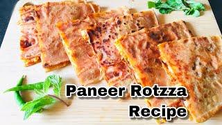 Paneer Rotzza Recipe | Paneer Paratha Recipe | Rotzza Recipe | Lockdown Recipe | Paneer Recipe