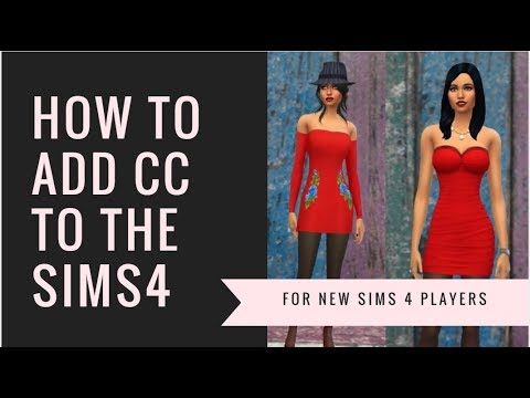 How to add custom content to the sims 4 step by step 2018